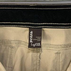 Prana Pants - prAna Zion Hiking Pants Tan Large X 32L Lot of 3
